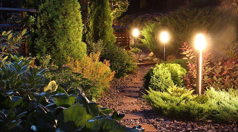 Lichtanlagen für Gärten in Homberg-Holzhausen